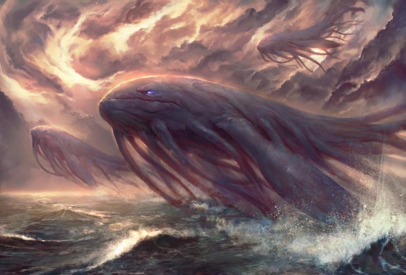 Une goutte de pluie enfante l'océan Balein10