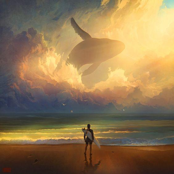 Une goutte de pluie enfante l'océan Songe_10