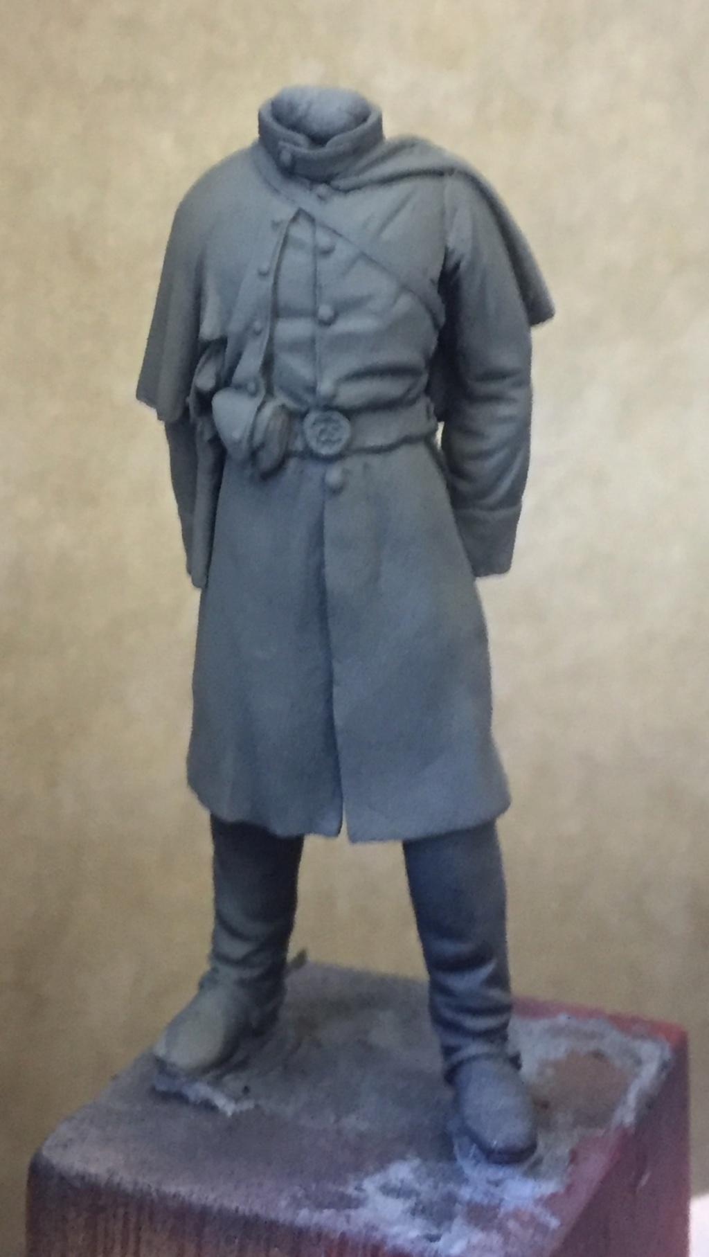 Confederete Infantry Officer - 75mm Elite Miniaturas Fullsi20