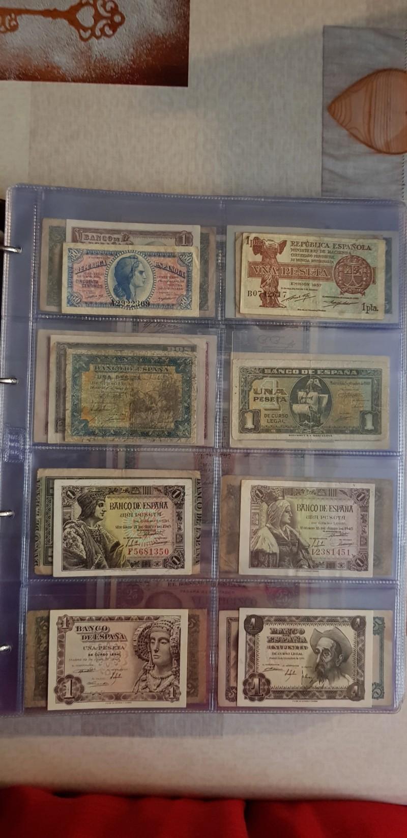 Billetes Españoles 20180811