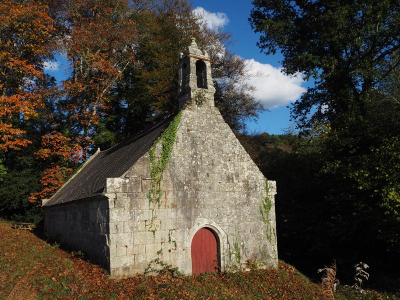 La chapelle Saint-Trémeur (Le Saint, 56) Pa300810