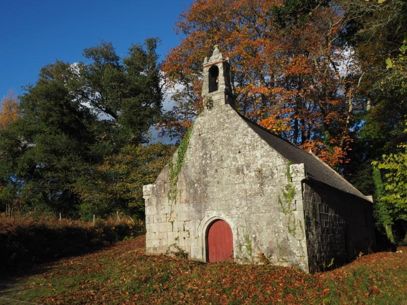 La chapelle Saint-Trémeur (Le Saint, 56) Pa300811