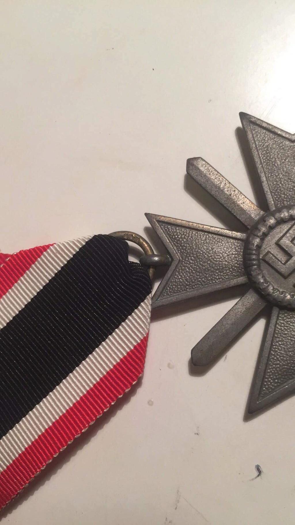 Croix de fer du mérite Receiv12