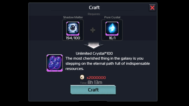Building unlimited crystals Ark_of16
