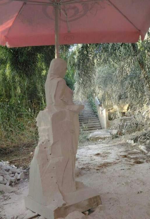 Sculptures faites pour l'hôtel en Sicile Oxptl-10