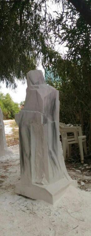 Sculptures faites pour l'hôtel en Sicile U3_jo310