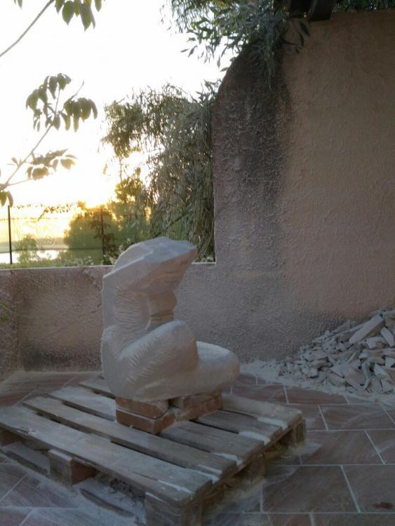 Sculptures faites pour l'hôtel en Sicile X5btbk10