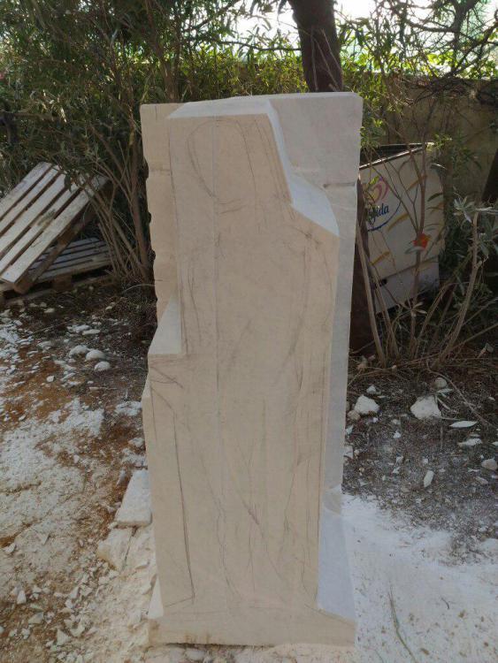 Sculptures faites pour l'hôtel en Sicile Zt_b1d10