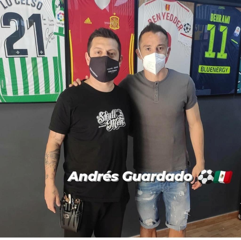¿Cuánto mide Andrés Guardado? - Altura - Real height Img_1902