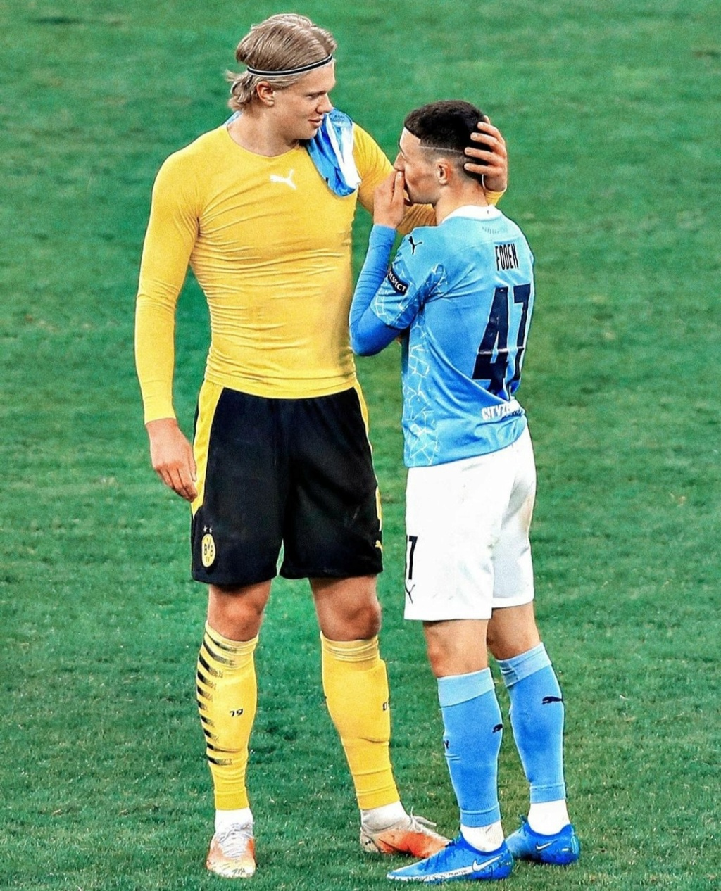 ¿Cuánto mide Phil Foden? - Altura - Real height Img_1913