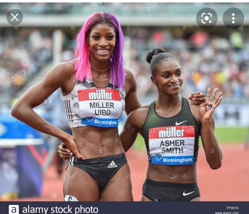¿Cuánto mide Shaunae Miller-Uibo? - Altura - Real height Img_3109