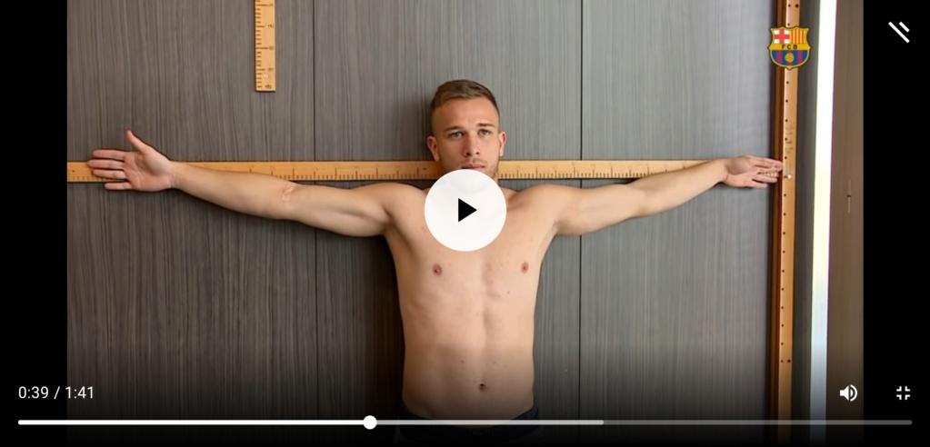 ¿Cuánto mide Arthur Melo? - Altura - Real height Screen62