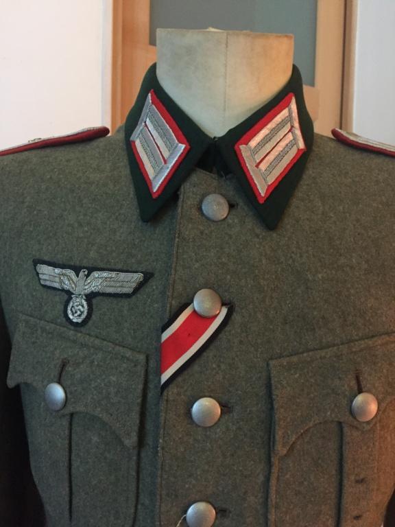 Vareuse officier allemand artillerie  D0bddb10