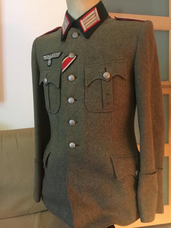 Vareuse officier allemand artillerie  E5157910
