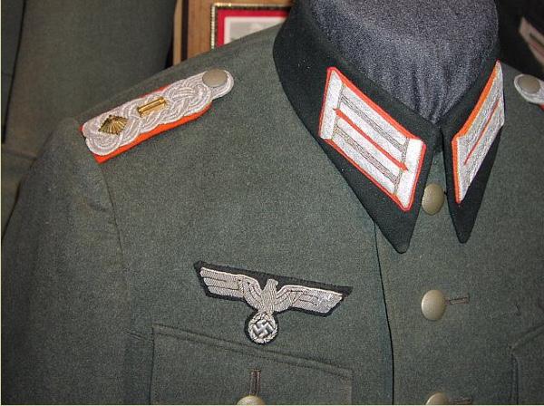 Vareuse officier allemand artillerie  E5989b10