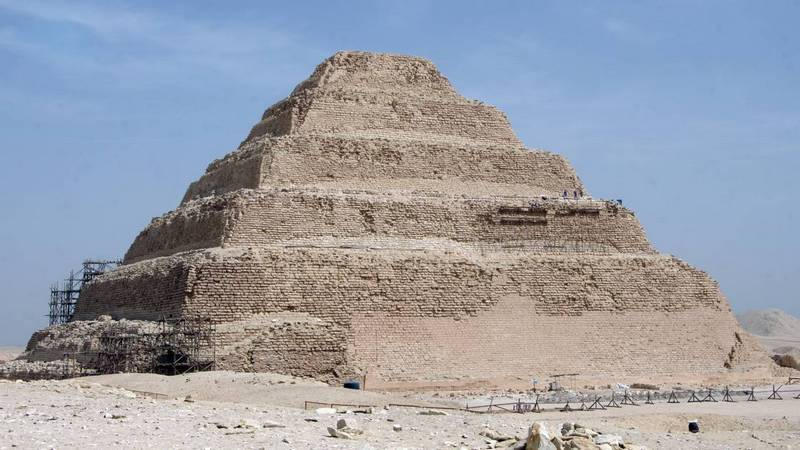 Égypte: la plus vieille pyramide encore debout rouvre après rénovation 1egypt10