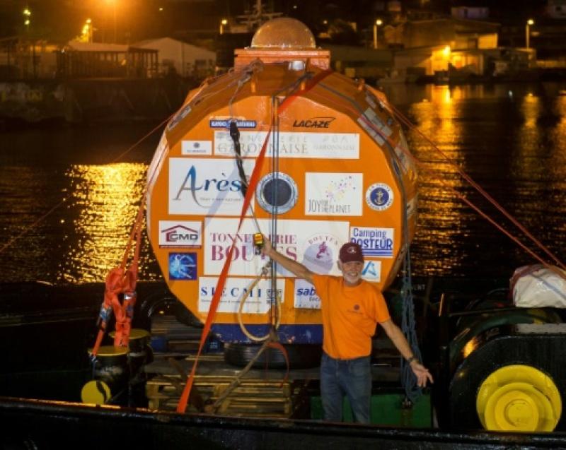 Traversée de l'Atlantique: l'aventurier au tonneau à bon port Jean_s10