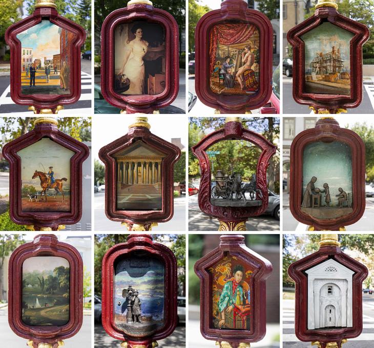 Dans les rues de Washington, d'anciens postes de téléphone d'urgence deviennent œuvres d'art Teleph10