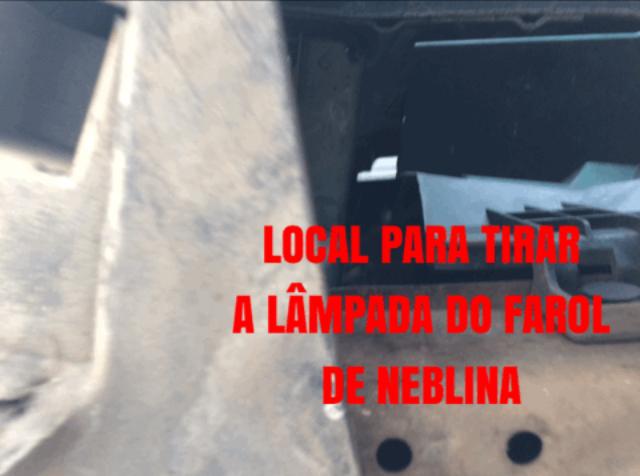 Substituição Lampadas Farol de Neblina New March 4450c710