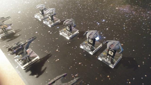 Capt. Sisko und Capt. Picard im Kampf gegen das Dominion (KI-Schiffe) 20210315