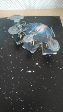 Capt. Sisko und Capt. Picard im Kampf gegen das Dominion (KI-Schiffe) 20210319