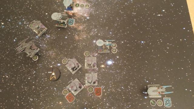 Capt. Sisko und Capt. Picard im Kampf gegen das Dominion (KI-Schiffe) 20210323