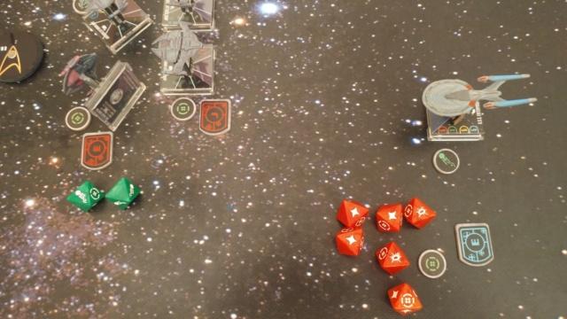 Capt. Sisko und Capt. Picard im Kampf gegen das Dominion (KI-Schiffe) 20210324