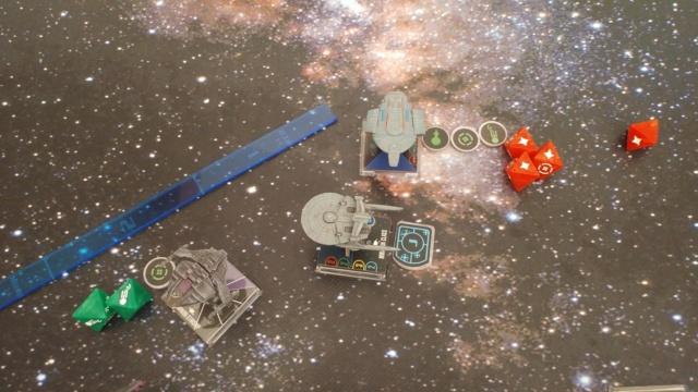 Capt. Sisko und Capt. Picard im Kampf gegen das Dominion (KI-Schiffe) 20210325