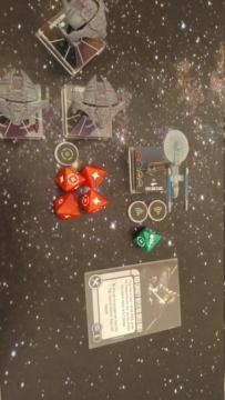 Capt. Sisko und Capt. Picard im Kampf gegen das Dominion (KI-Schiffe) 20210328