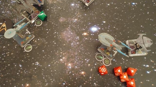 Capt. Sisko und Capt. Picard im Kampf gegen das Dominion (KI-Schiffe) 20210336