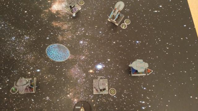 Capt. Sisko und Capt. Picard im Kampf gegen das Dominion (KI-Schiffe) 20210345