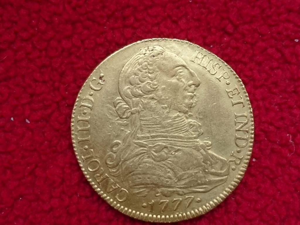 8 escudos de Carlos III de 1777, Santiago Carlos18