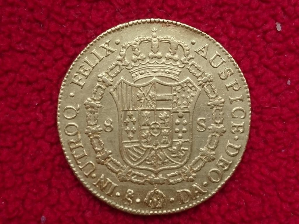 8 escudos de Carlos III de 1777, Santiago Carlos19