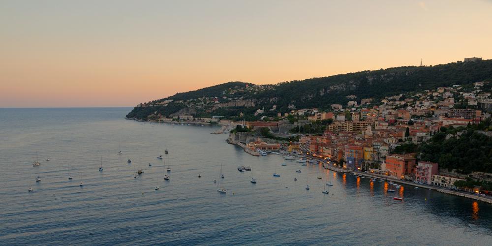 [Paysages] Villefranche sur Mer le soir 1000_065