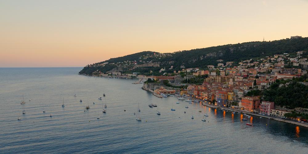 [Paysages] Villefranche sur Mer le soir 1000_066