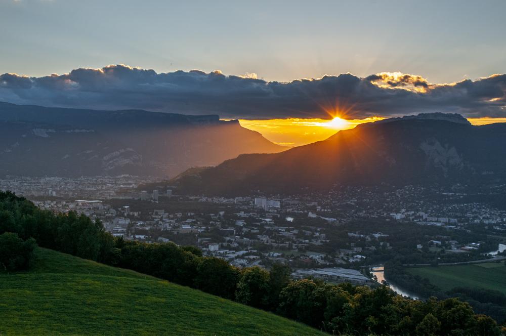 [Paysages] Coucher de soleil sur Grenoble Couche10