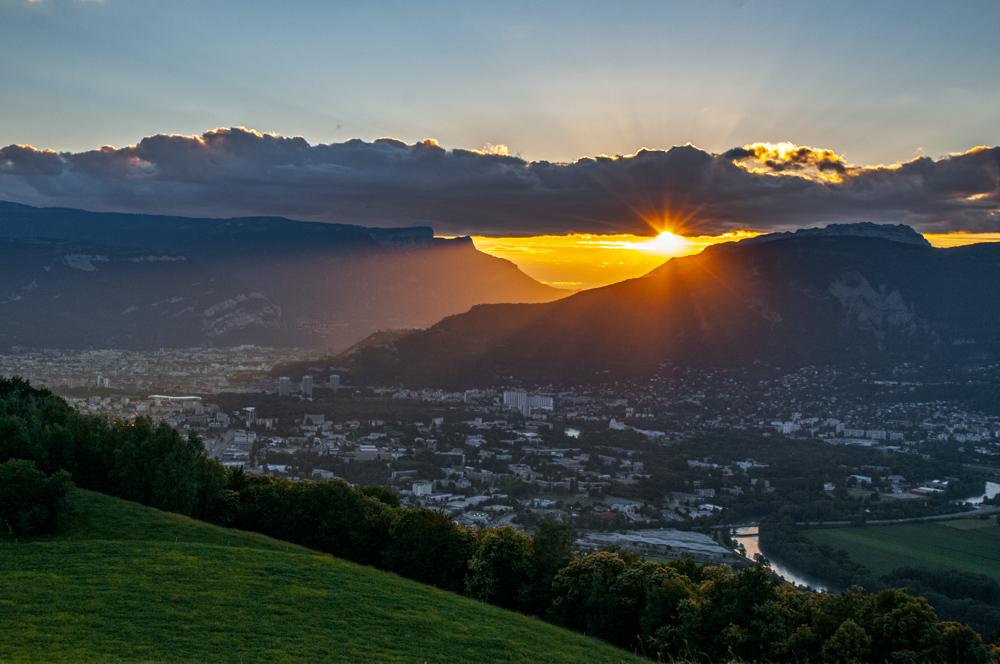 [Paysages] Coucher de soleil sur Grenoble Couche11