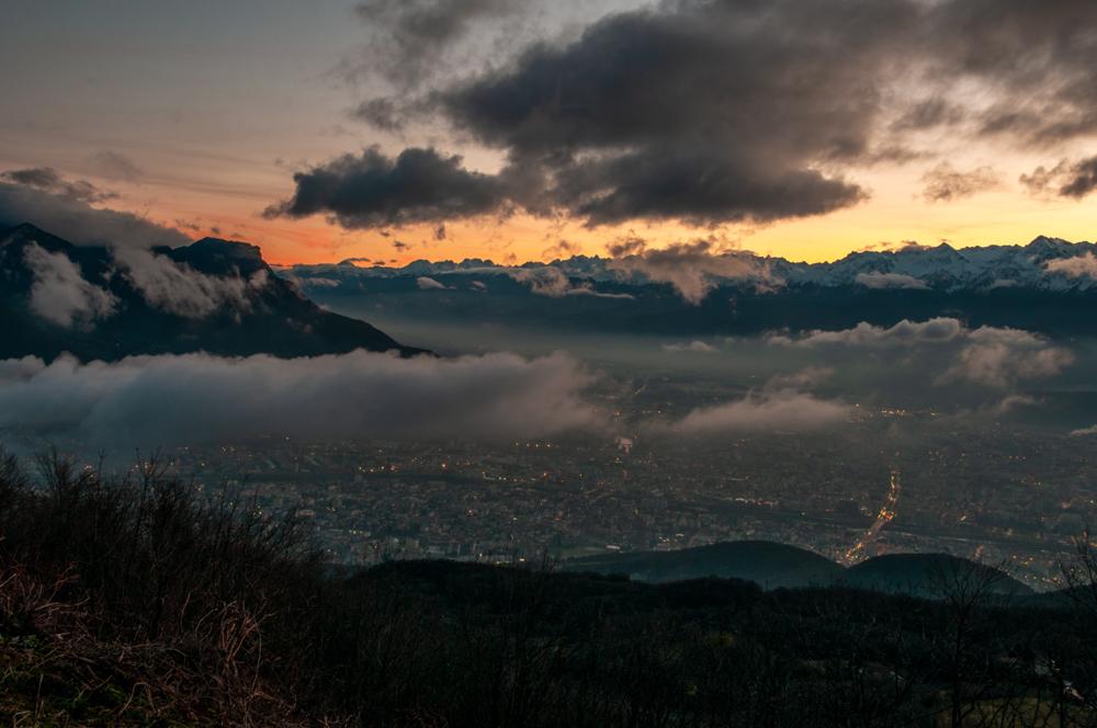 [Paysages] Lever de soleil sur Grenoble Sans_t24