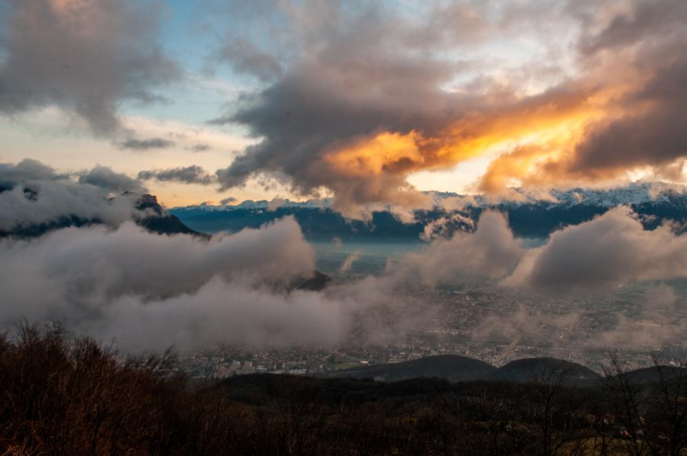 [Paysages] Lever de soleil sur Grenoble Sans_t26