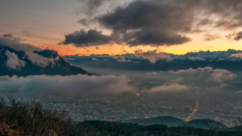 [Paysages] Lever de soleil sur Grenoble Sans_t27