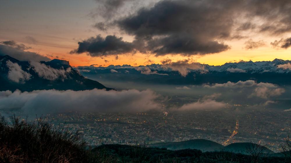 [Paysages] Lever de soleil sur Grenoble Sans_t30