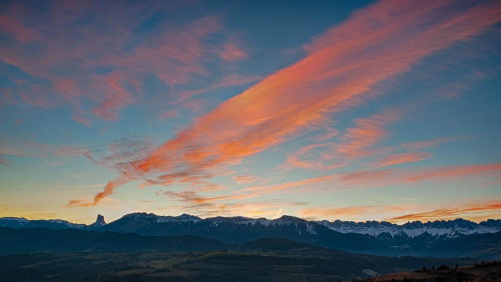 [Paysages] Mont Aiguille, une autre version Sans_t44