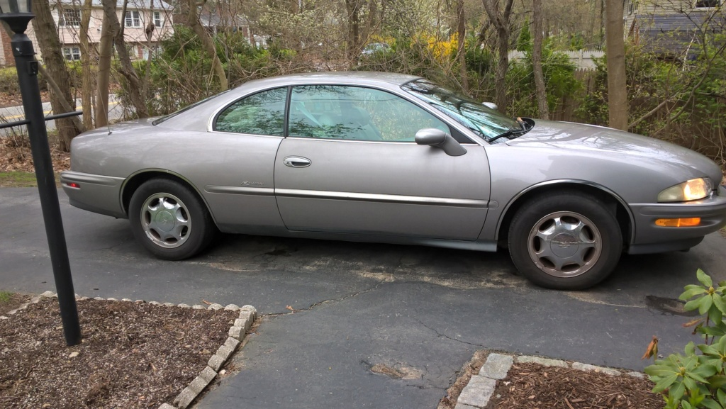 Just picked up a 1996 supercharged Riviera, thought I'd say hello Wp_20111