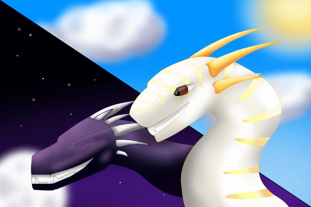 Free Dragon Headshots (Drawn by Ink) Solara10