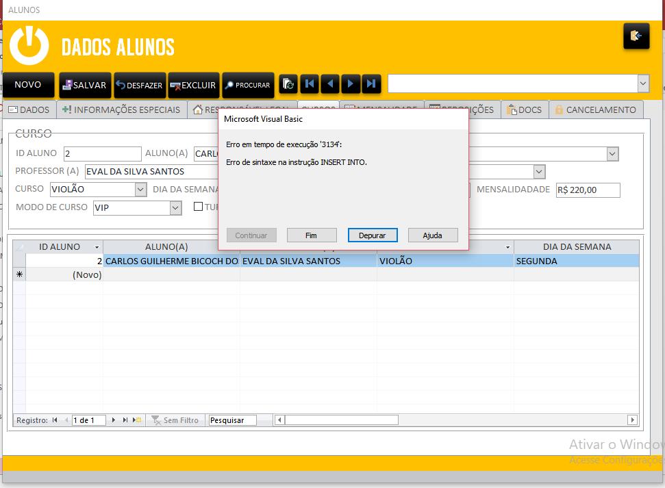 [Resolvido]Botão para adicionar novo registro do formulário para subformulário Erro_d10