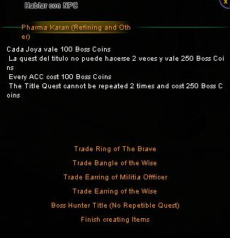 ¿Que son las Boss Coins? Karanb11