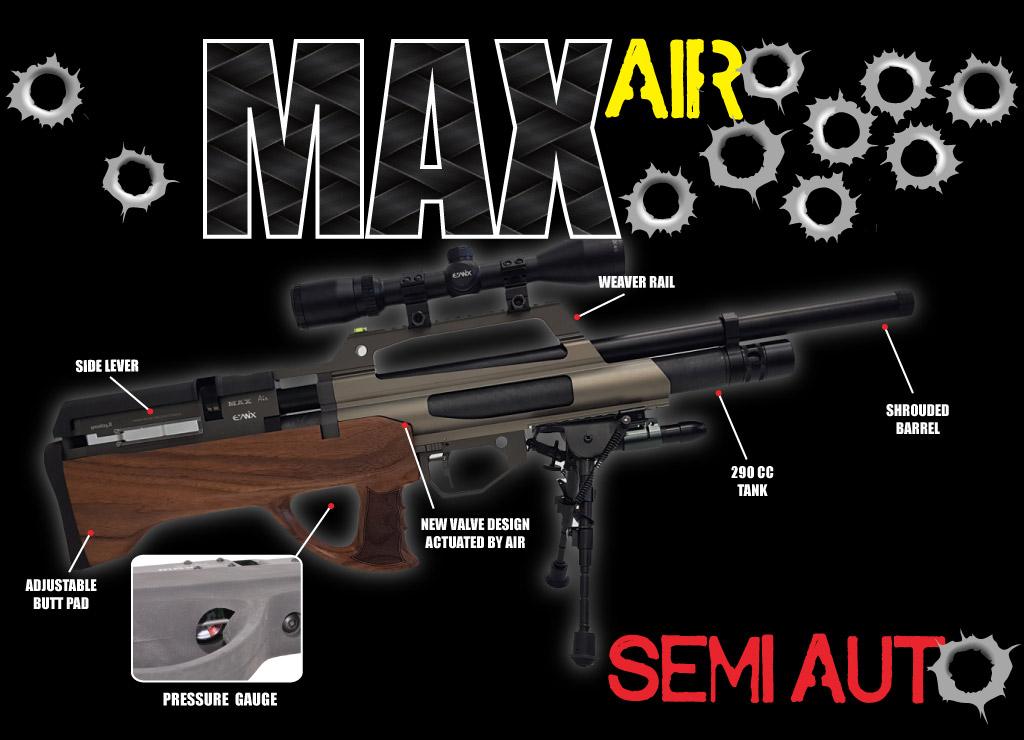 Avis PCP BULLPUP SEMI AUTO [ en construction] Maxair10