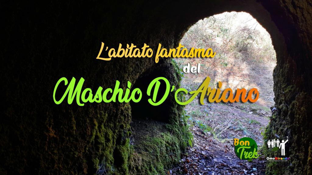 L'abitato fantasma del Maschio d'Ariano - trekking e visita - Parco dei Castelli Romani, dom 7 marzo Copert10