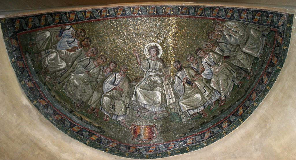 OmoGirando la restaurata cappella di Sant'Aquilino e la Basilica di San Lorenzo - Milano, 24 ottobre Sant_a10