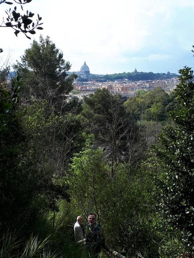 OmoGirando Monte Mario e la Trionfale - Trekking urbano - Roma, 22 e 23 maggio, ore 10:00 Scende10